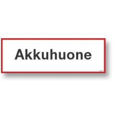 Akkuhuone