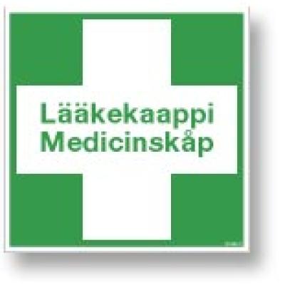 Lääkekaappi Medicinskåp