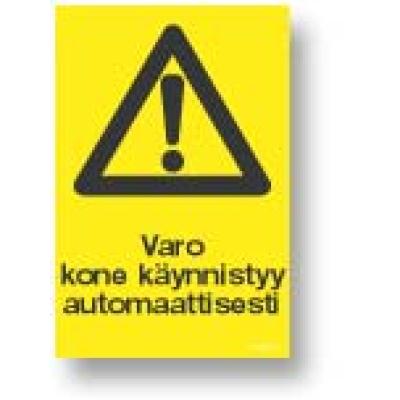 Varo kone käynnistyy automaattisesti